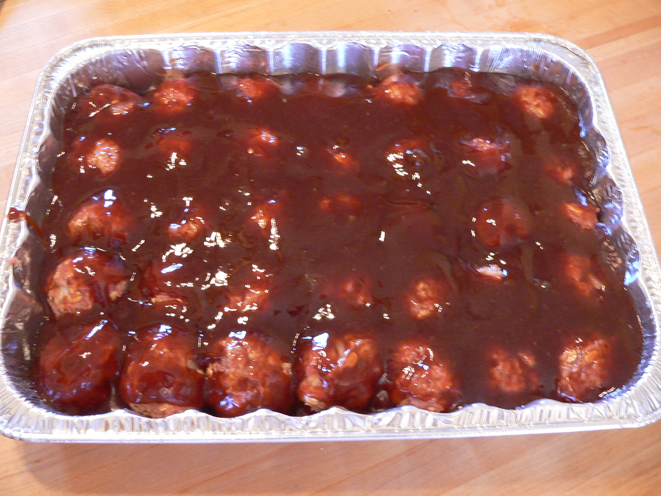 Barbecue Meatballs | Adrians Boutique