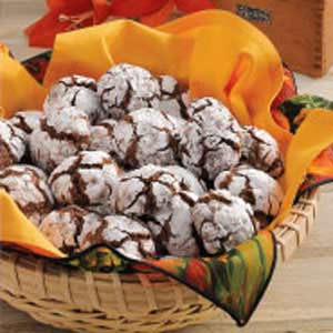 Amaretto Brownie Cookies