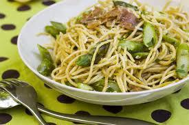 Spring Pasta with Asparagus-Flo