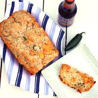 Cheesy Jalalpeno Beer Bread