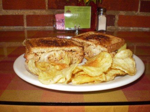Red Turkey Sandwich