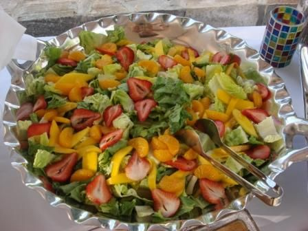 Nila's Exotic Spinach Salad