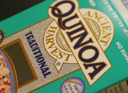 Quinoa in box