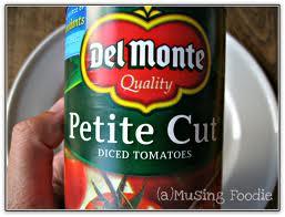 Tomatoes Petite Diced