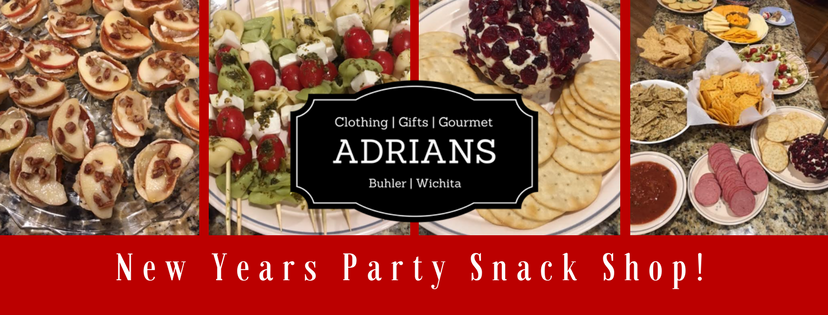 ADRIAN'S BOUTIQUE | Your New Years Party Snack Stop!