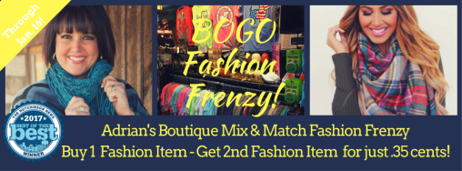 Adrian's Boutique Fashion Frenzy - Buy-2